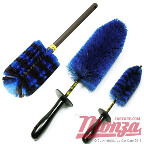EZ Detail Professional Triple Brush Set