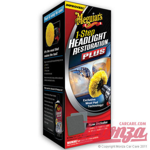 Meguiars Headlight Restoration Plus Kit