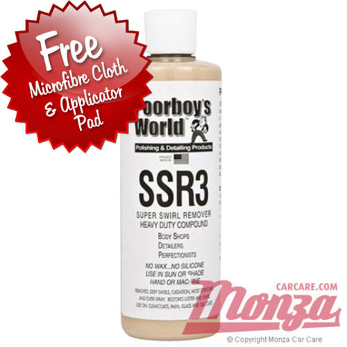 Poorboys Super Swirl Remover SSR3