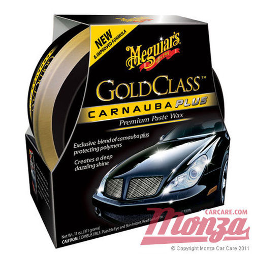 Meguiars Gold Class Carnauba Paste Wax