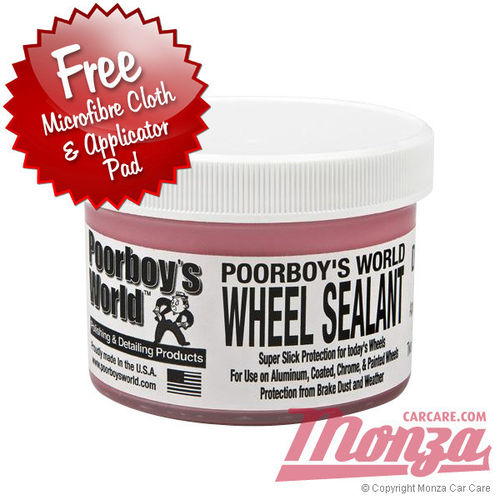 Poorboys Alloy Car Wheel Sealant