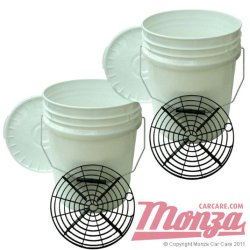 Monza Swirl Free Paint Twin Bucket Kit