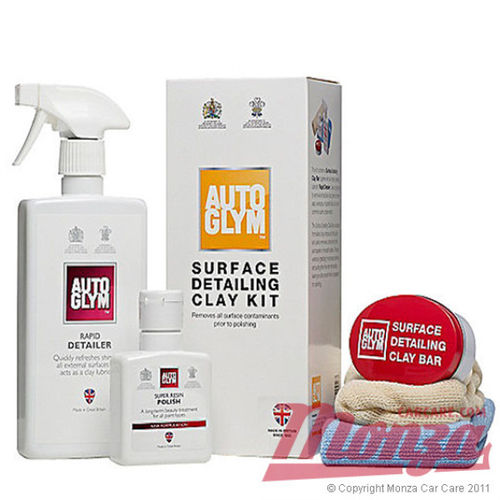 Autoglym Surface Clay Bar & Lube Kit