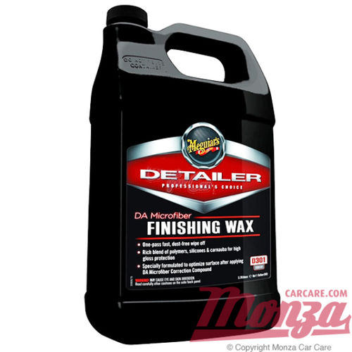 Meguiars DA Microfiber Finishing Wax 3.74 Litre