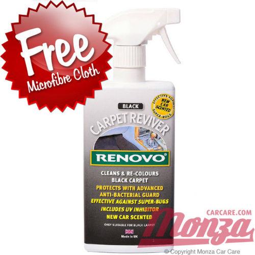Renovo Black Carpet Reviver 400ml Spray