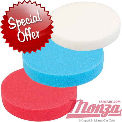 "Monza 7"" Ultra Shine Complete Pad Set"