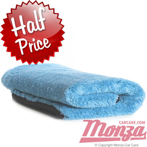 Monza Aqua Plush Deluxe Drying Towel