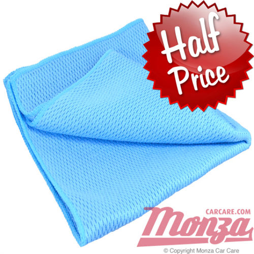 Monza No Smear Diamond Weave Glass Cloth
