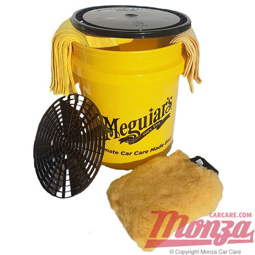 Meguiars Ultimate Single Swirl Free Wash Bucket Kit