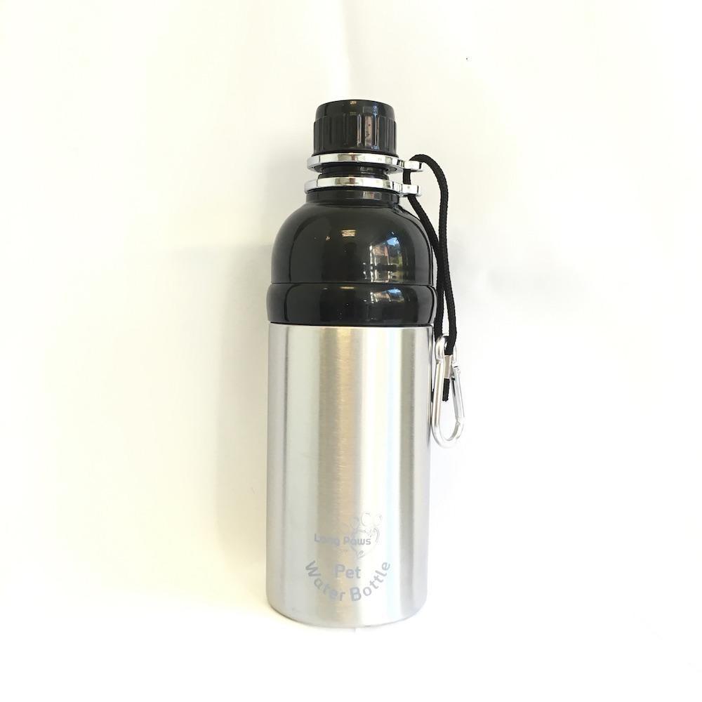 Pet Water Bottle 500ml Silver