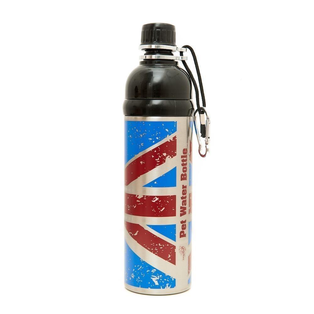 Pet Water Bottle 750ml Union Jack