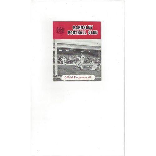 Barnsley v Watford 1963/64
