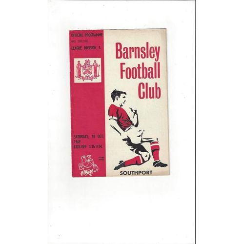 Barnsley v Southport 1969/70