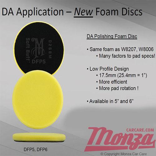 NEW!! Meguiars DA Foam Polishing Disc