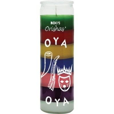 Oya 7 Colour Candle