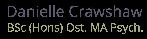 Danielle Crawshaw | Cranial Osteopathy Bruton | Psychotherapy Bath