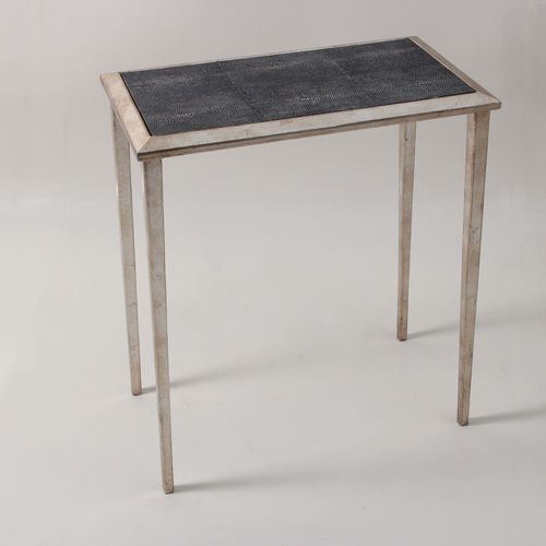 Shagreen lamp table