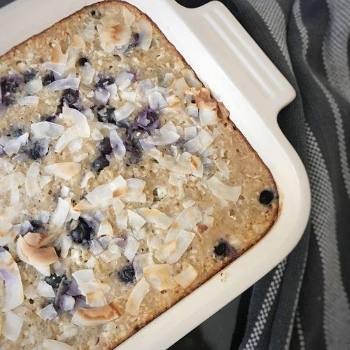 Baked Blueberry Breakfast
