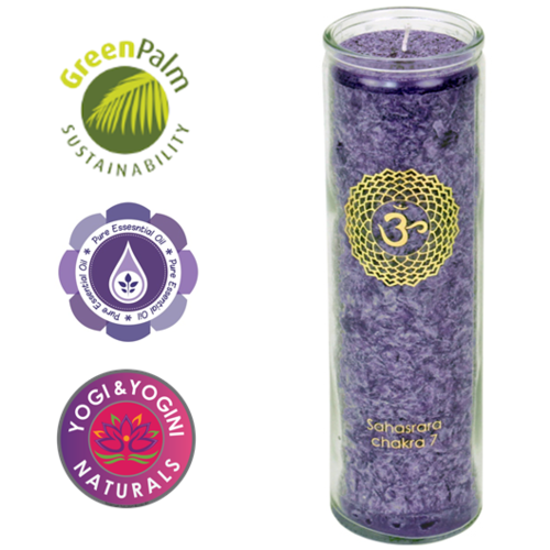 7th Chakra Aroma Candle