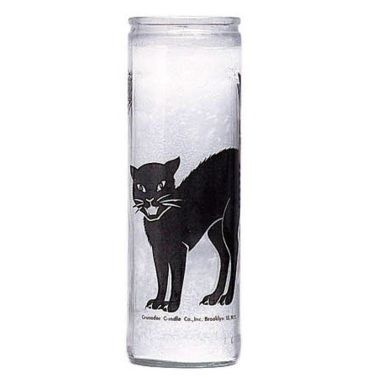 Black Cat Candle