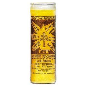 Cross of Caravaca Candle