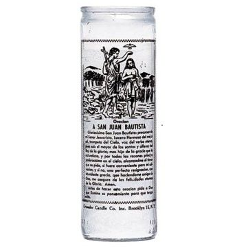 John the Baptist Candle