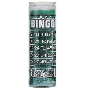 Lucky Bingo Candle