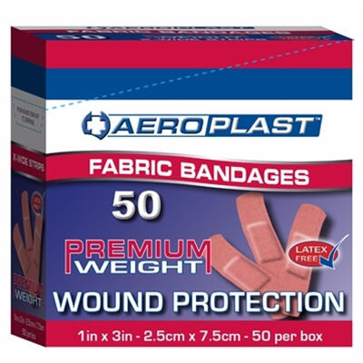 Plasters - Fabric Extra Wide Strips