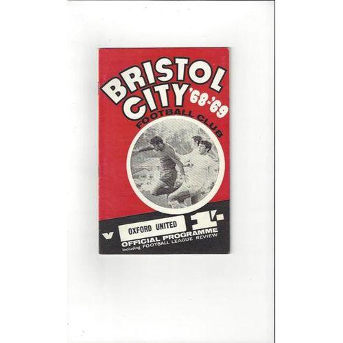 Bristol City v Oxford United 1968/69 + League Review