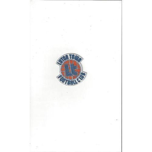2 x Luton Town Football cloth Badge Iron on / Sew On