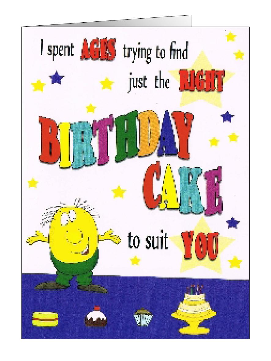 Designer Happy Birthday Funnies First Choice Cards