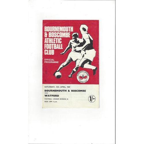 Bournemouth v Watford 1968/6