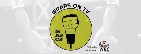 Wraps on TV logo