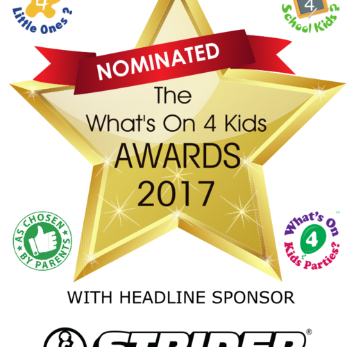 Cook Stars nominated for What's On 4 Kids Awards 2017