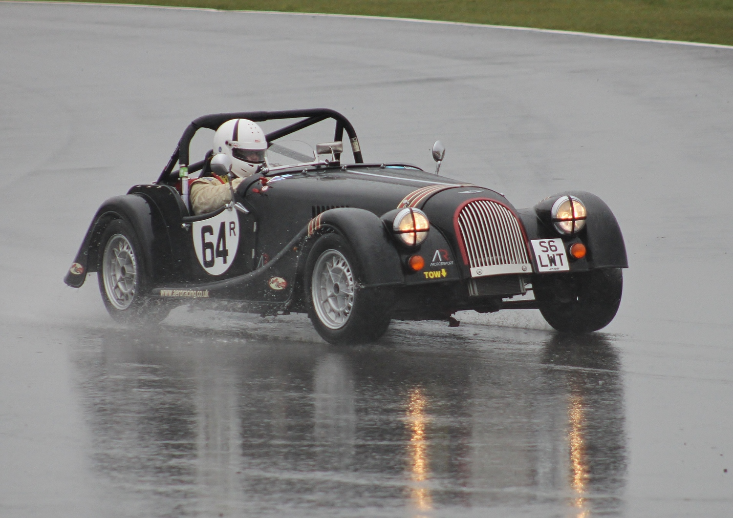 SOLD: 2008 Black Morgan Roadster Lightweight (Competition/Road ...