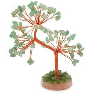 Green Aventurine Gem Tree