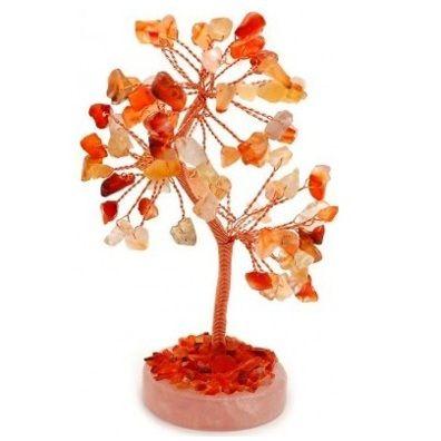 Carnelian Gem Tree