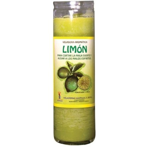 Lemon Dressed Candle
