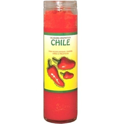 Chile Dressed Candle