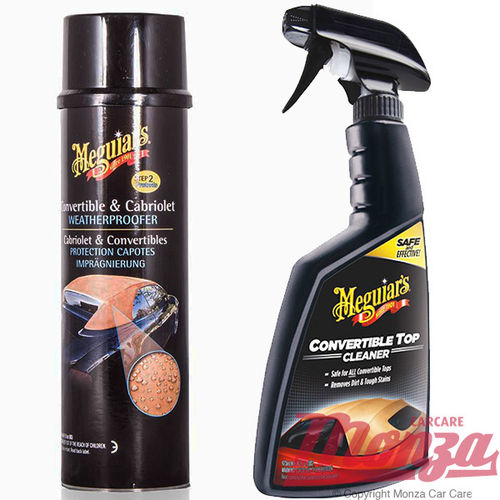Meguiars Convertible Cleaner & Proofer Kit