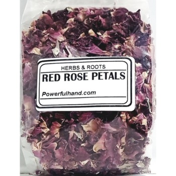 Red Rose Petals Herb