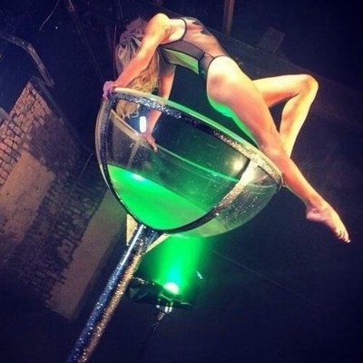 Matching Giant Martini Glass Performers Dancers Entertainment Events UK