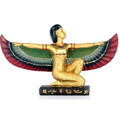 Golden Isis Wings Stretched