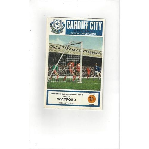 Cardiff City v Watford 1969/70 + League Review