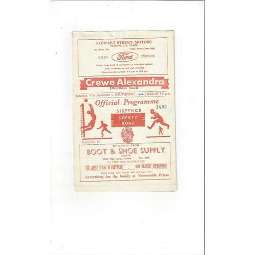 Crewe Alexandra v Southport 1966/67