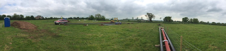High Pressure Gas Pipeline Diversion works underway in Taunton