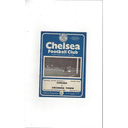Chelsea v Swansea 1962/63
