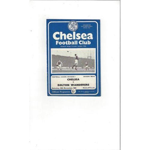 Chelsea v Bolton Wanderers 1963/64