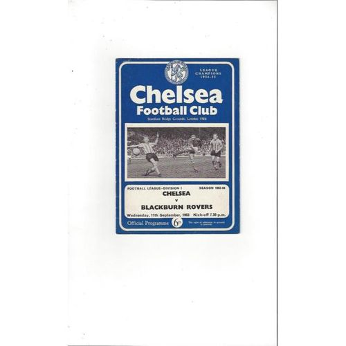 Chelsea v Blackburn Rovers 1963/64