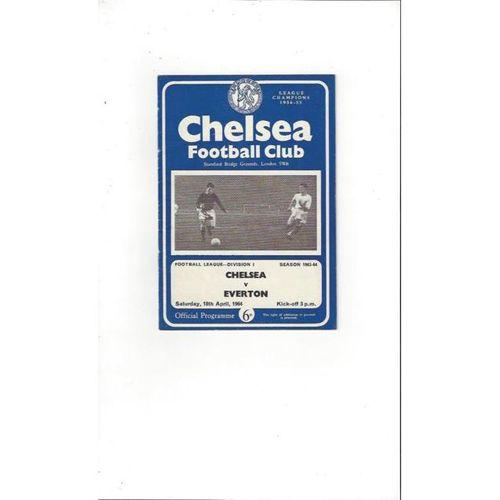 Everton Away Football Programmes